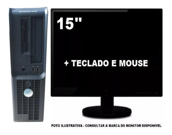 Dell Optiplex 210 Intel Dualcore 4gb 160gb