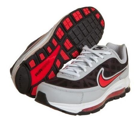 Tênis Nike Air Max Nitro Cinza/preto/verm 4025 Schuh Haus