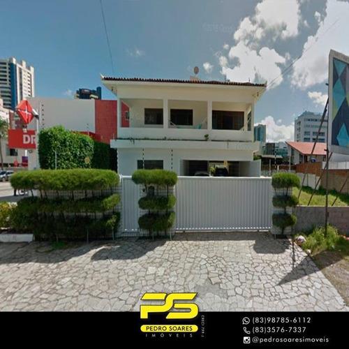 Casa Com 6 Dormitórios À Venda Por R$ 2.500.000 - Jardim Oceania - João Pessoa/pb - Ca0598