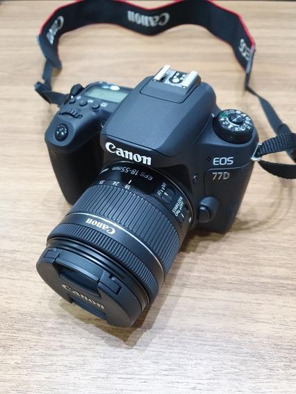 Camêra Canon Eos 77d