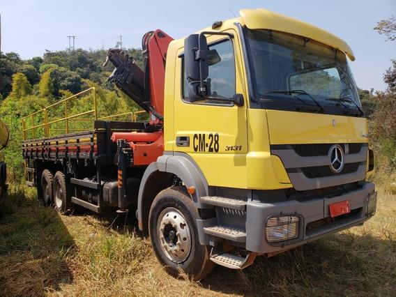Mercedes-bens 3131 6x4 Ano 2014 Munck Madal 23.000 Palfinger