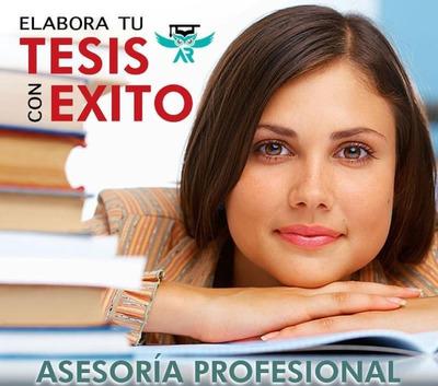Asesoria En Tesis Proyectos, Trabajos De Grado Universitario