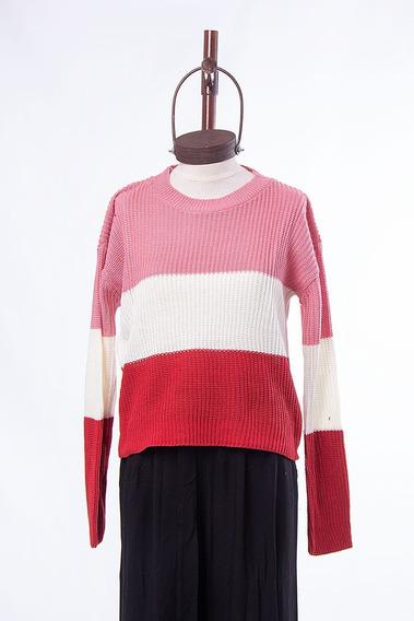 Sweater Mujer Formal/informal Jazmin Rayado 40lj