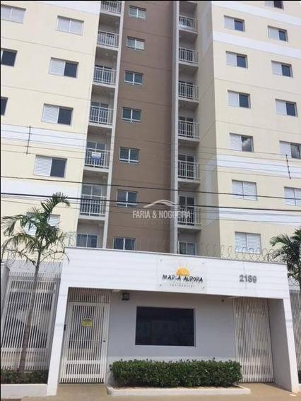 Apartamento Com 2 Dormitórios Sendo 1 Suíte Para Alugar, 53 M² Por R$ 650/mês - Vila Cristina - Rio Claro/sp - Ap0235