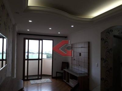Apartamento Com 2 Dormitórios À Venda, 65 M² Por R$ 320.000 - Baeta Neves - São Bernardo Do Campo/sp - Ap0001