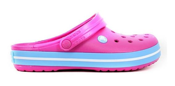 Crocs Crocband Originales Candy Pink- Blue Bell