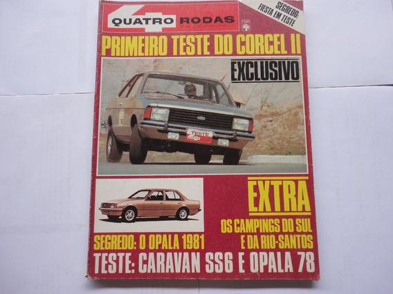 Revista 4 Rodas Nº 207 1977 Poster Gigante Corcel/belina