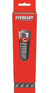 Caja 60 Pilas Zinc Carbon Eveready Aa Super Heavy Duty 1215