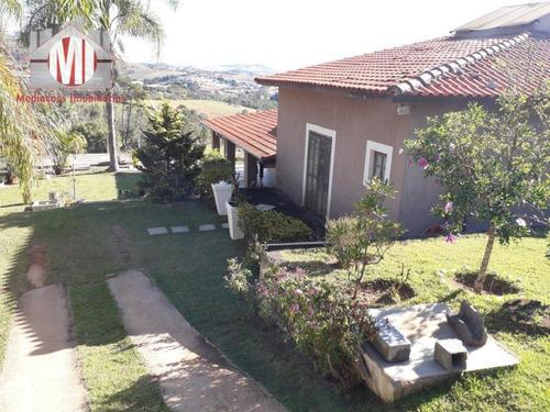 Chácara Com 04 Dormitórios À Venda, 1200 M² Por R$ 480.000 - Zona Rural - Pinhalzinho/sp - Ch0504
