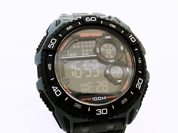 Relógio Mormaii Masculino Mo13617n/8l Ponta De Estoque