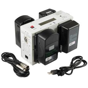 Carregador Broadcast P/ Filmadora Sony V-mount Bb33 4 Canais