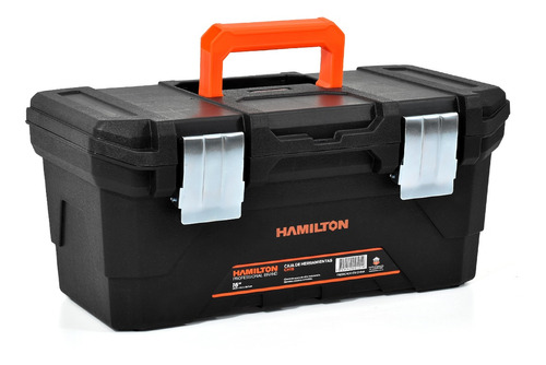 Caja Plástica 16 Ch16 Hamilton Original + Cutter+linterna