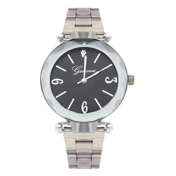 Reloj Dama Mujer Klassis Plateado