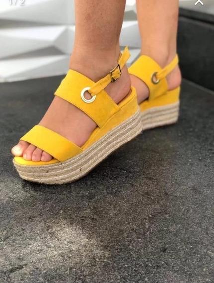 Promoçao Frete Gratis Sandalia Plataforma Ana Bela Casual