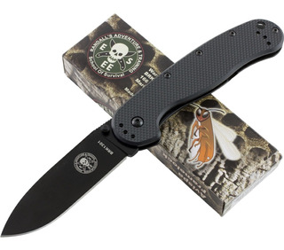 Canivete Esee Avispa All Black- # Brk 1301, Aço D2, Original