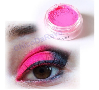 Sombra Fluorescente Rosa Pink Asa De Borboleta Maquiagem