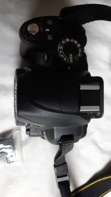 Câmera Nikon D3000 Seminova, 2 Zooms, Bolsa.perfeito Estado