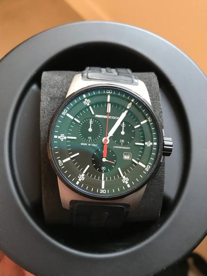 Relógio Momo Design Md 1276 Caixa 43 Mm Original Pouco Uso