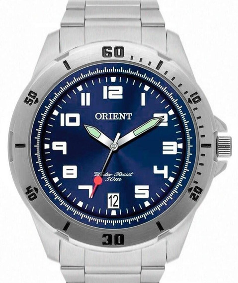 Relógio Orient Masculino Prata Mbss1155a D2sx