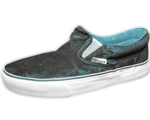 Zapatilla Pancha Urbana Unisex Navy Dye Jean -liquidacion-