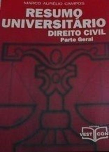 Resumo Universitário Direito Civil - Parte Geral