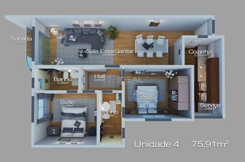 Apartamento A Venda Em Parque Turf Club - Campos Dos Goytacazes, Rj - 12328