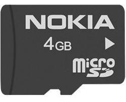 Cartão De Memória Micro Sd Card 4gb Nokia Original Camera