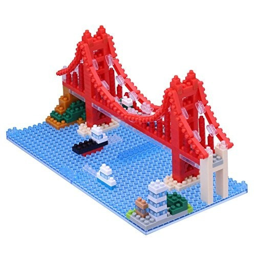 Kit De Construcción Nanoblock Golden Gate Bridge