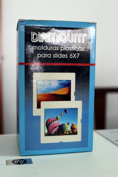 Molduras Plásticas Para Slides 6x7 50 Unidades