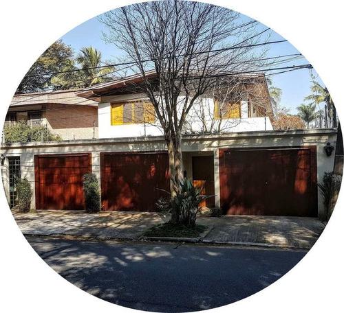 Imagem 1 de 21 de Sobrado Com 4 Dorms, Alto De Pinheiros, São Paulo - R$ 2.45 Mi, Cod: 3563 - V3563