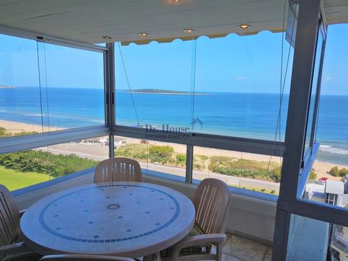Apartamento Reciclado, Frente Al Mar, 3 Dormitorios, 2 Baños- Ref: 334