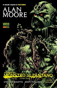 Gibi Alan Moore A Saga Do Monstro Do Pântano 2