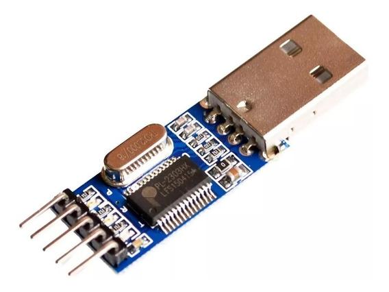 Conversor Adaptador Usb Ttl Serial Rs232 Pl2303hx Pl2303 Hx