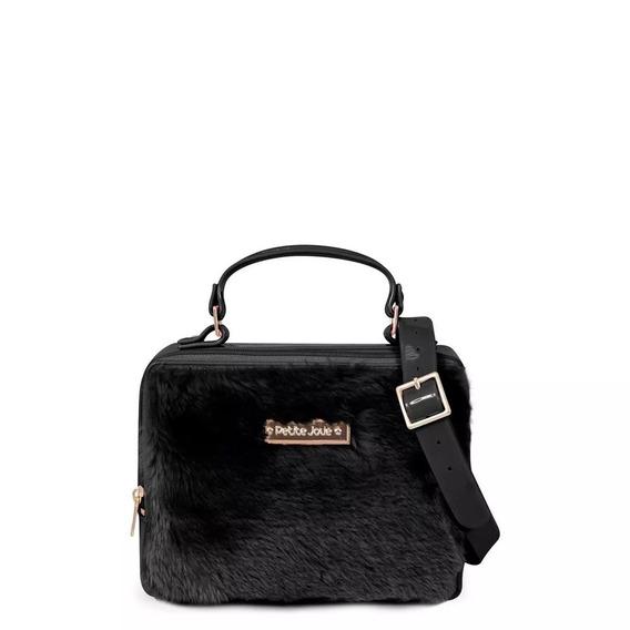 Bolsa Petite Jolie Box Bag Pj3023 Com Pelinho