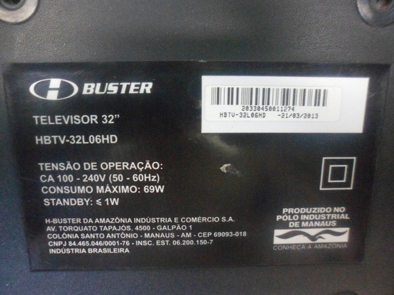 Tv Led Buster Modelo Hbtv 32l 06 Hd