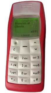 Nokia 1100 1108 Rojo Hermoso Clasico Con Cargador Original