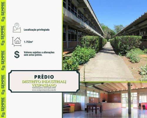 Imagem 1 de 27 de Prédio Para Alugar, 1.752 M² - Distrito Industrial B - Vespasiano/mg - Pr0021