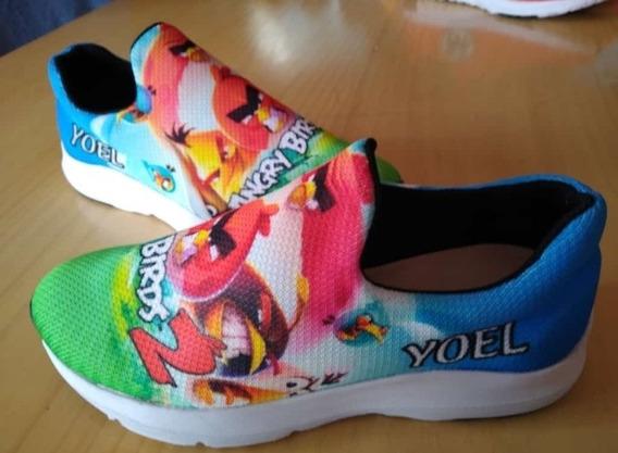 Zapatillas Angry Birds Personalizado
