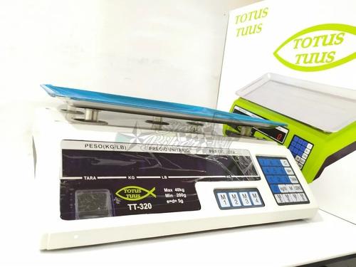 Bascula 40kg Gramera Digital Balanza Pesa Recargable Precio