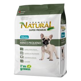 Ração Fórmula Natural Para Cães Filhotes Raças Mini 7kg