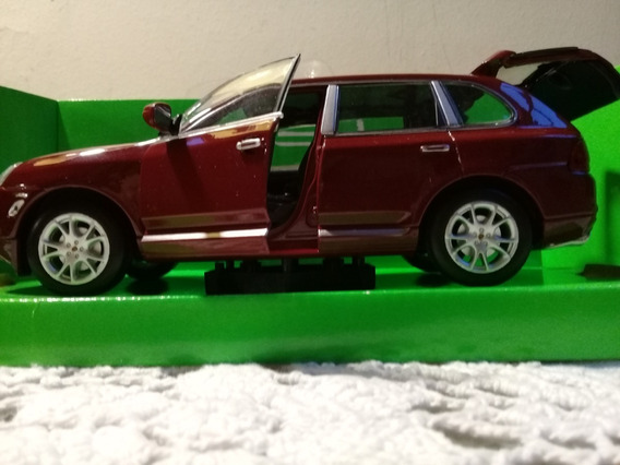 Porsche Cayenne Turbo 1/24 Welly Coleccion Devoto Toys