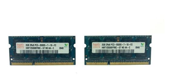 Memória Inix 4gb 2x2gb Ddr3 1066mhz Apple Macbook iMac 8500s