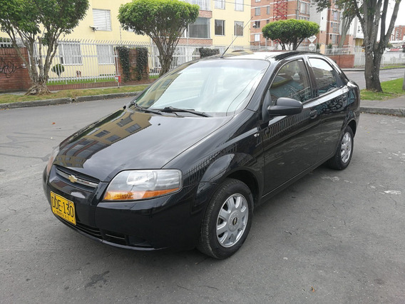 Chevrolet Aveo Ls Mt1600cc Negro Titan Aa Ab Dh