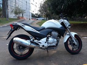 Moto Cb 300r Flex, 2012, Branca,ipva 2019 E Placa Reflexiva
