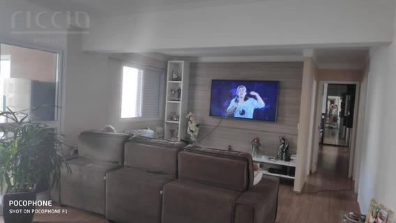 Belo Apartamento Totalmente Mobiliado De 122m² E Andar Alto Com Linda Vista No Splendor Garden - Ap2132