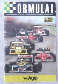 Pole Position Nº 3 - Gp Brasil F1 - Piquet - Senna -1988