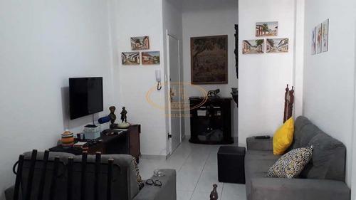 Apartamento  Com 2 Dormitório(s) Localizado(a) No Bairro Gonzaga Em Santos / Santos  - 6777