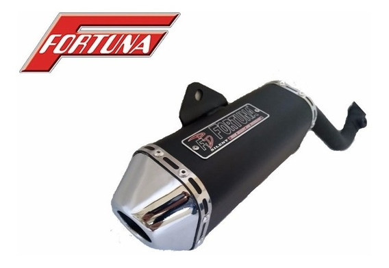 Escapamento F1 Mini Tri Fortuna - Moto Honda Xlr 125