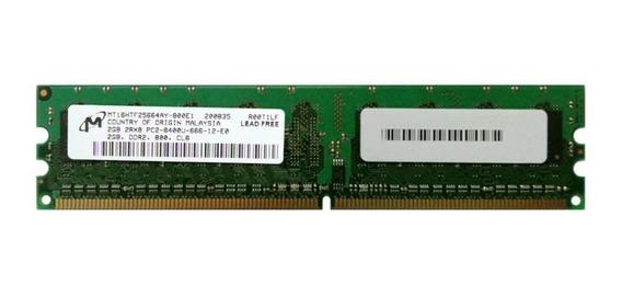 Memoria RAM 2GB 1x2GB Micron MT16HTF25664AY-800E1