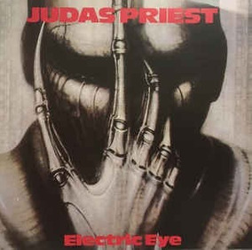 Judas Priest ¿ Electric Eye (live In New Haven,1988)cd Raro
